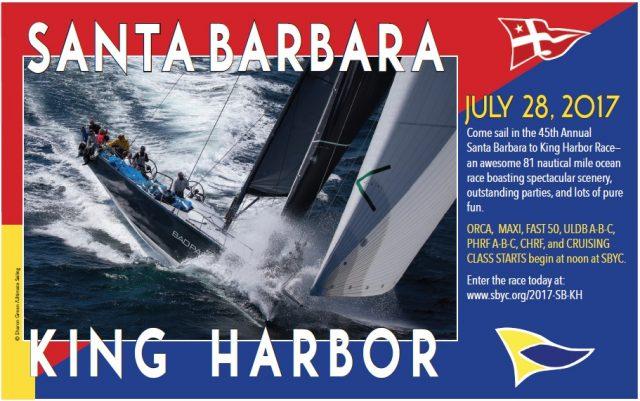 Santa Barbara to King Harbor 2017